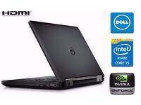 SUPERB DELL LATITUDE E5440 - CORE I5 - 8GB RAM - 500GB SSHD HD - NVIDIA 2GB GRAPHICS CARD - WIN 10