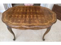 Marquetry Dinning Table