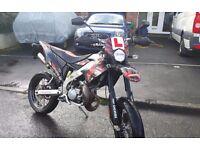 Derbi Senda DRD Pro SM Supermotard motorbike moped