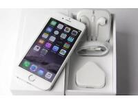 Apple iPhone 6-64GB Unlocked Silver excellent condition boxed