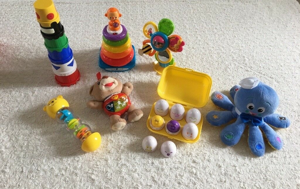 Baby toy bundle - VTECH/TOMY/LITTLE TIKES