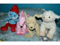 Bundle of build a bear soft toys