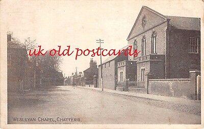 Cambridgeshire - CHATTERIS, Wesleyan Chapel , used 1920