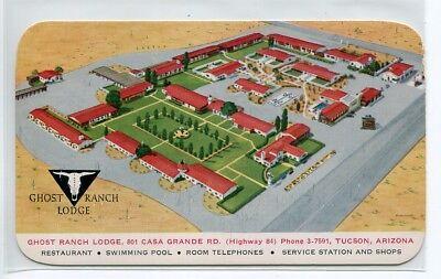 Ranch Lodge (Ghost Ranch Lodge Highway 84 Tucson Arizona postcard)