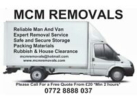 MCM Removals London | Cheap Removals | Rubbish Clearance | Storage Removal | Man And Van | House