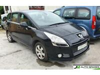 2013 Peugeot 5008 1.6 BREAKING PARTS SPARES ONLY