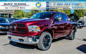 "2017 Ram 1500 OUTDOORSMAN, 4X4, 20"" BLACK WHEELS, BLUETOOTH, 8.4"