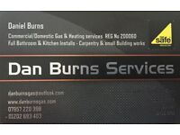 Daniel Burns -FREE Quotes & Advice- City & Guilds Qualified Gas Engineer & Plumber