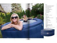 Hot Tub Inflatable NEW BOXED Mspa Baikal hydro massage top spec