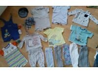 Baby boys 3-6months bundle (bundle 3)