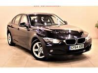 BMW 3 SERIES 2.0 320D SE 4d 184 BHP NO DEPOSIT NEED - DRIVE AWA (black) 2014