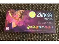 ***FOR SALE ZUMBA FITNESS EXHILARATE BODY SHAPING SYSTEM 7 DVDS***