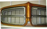 1970 - 72 Pontiac grille and surround