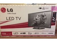 "Boxed 42"" LG Led Tv in mint condition, to collect in the Clifton area"