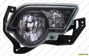 Fog Light Passenger Side With Cladding High Quality Chevrolet Avalanche 2002-2006