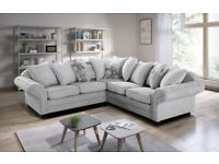 AMAZING OFFER 🍻BRAND NEW NICOLE CORNER OR 3 & 2 SEATER SOFA-ORDER NOW