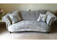 Stunning DFS Moray 4 Seater Sofa & Chair