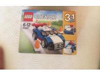 3 in 1 lego creator car bnib 31027