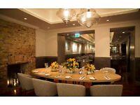 Chef de partie positions available! Belgravia based restaurant. 24000 per annum