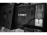 LANEY MONITOR AND EXTENSION SPEAKER