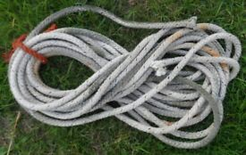 Rope for Anchor or Mooring for Rowing / Fishing Boat Dinghy Tender or Yacht x 36 Ft