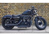 Harley Davidson Forty Eight 1200cc 2010 10k