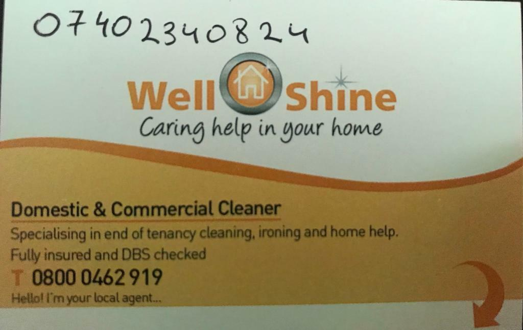 Domestic & Commercial Cleaner