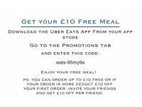 Get a FREE premium restaurant meal tonight - £10 voucher