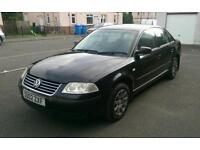 VW Passat 1.9 TDi *130k* *1year MOT* *BLACK*