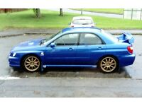 Subaru impreza wrx UK 300 Ltd edition pro drive pack low mileage