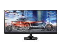 ((2x)) LG 25UM58-P 25-Inch 21:9 UltraWide FHD IPS Monitor ((£150 Each))