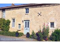 16th C Manor House with private pool in Poitou-Charentes France