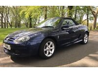 Beautiful Blue MG TF Petrol Convertible Soft Top (2005) in VGC (low mileage and 1 previous owner!)