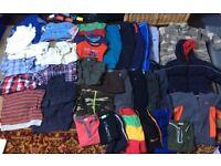 Huge bundle of boys clothes aged 2-3