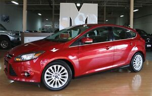 2012 Ford Focus Titanium, NAVIGATION, SONY, LEATHER, SUNROOF