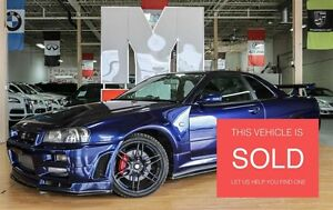 1999 Nissan Skyline R34 GTT - SOLD| MIDNIGHT PURPLE| NISMO PKG|