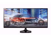 "LG Ultrawide IPS 25"" Monitor"