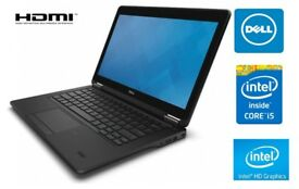 SUPERB ULTRAPORTABLE THIN DELL LATITUDE E7250 - CORE I5 - 8GB RAM - 256GB SSD HARD DRIVE