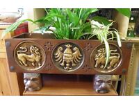FABULOUS HAND CARVED PLANT TROUGH - WE CAN DELIVER