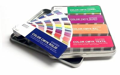 Set Color Cmyk Coated Uncoated - Pantone Textil Ral Basic Corel