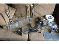 Shop fittings - large , medium , small , Xsmall hooks hangers & rails
