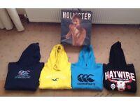 Hollister, Canterbury & Haywire hoodies sweatshirts tops (4), aged 12/14 yrs - Larne/Belfast, £18