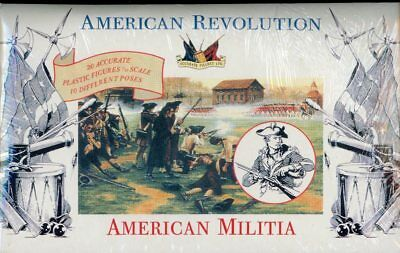 Accurate Figures 1:32 54mm American Revolution Militia Plastic Kit 3201