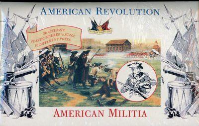 Accurate Figures 1:32 54mm American Revolution Militia Plastic Kit 3201