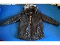 Boys' winter coat jacket 8-10 Rocha John Rocha