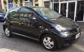 2010 Toyota aygo 5 door 1.0 Black Manual