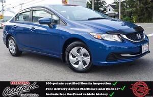 2014 Honda Civic LX Heated Seats, Bluetooth, Remote Start !!