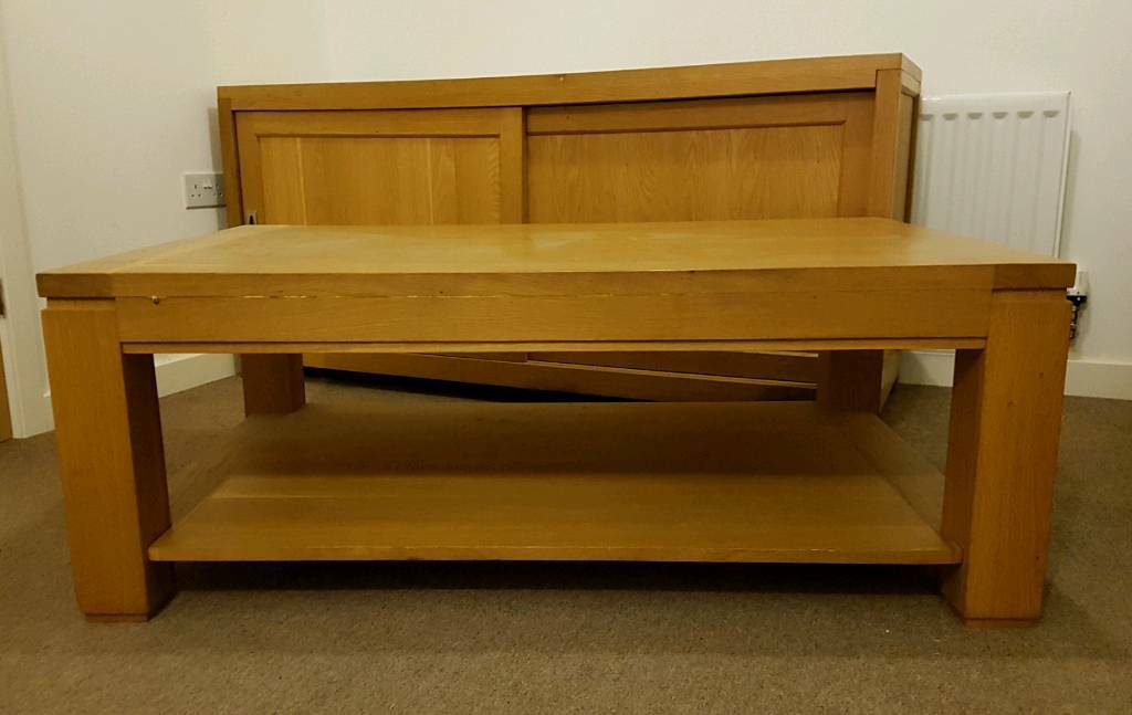 Sideboard And Coffee Table Set Solid Wood In
