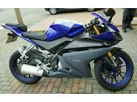 Yamaha YZF R125 2015 ABS LOW MILES