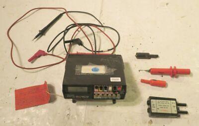 True Rms Digital Multimeter Mdl 467 Simpson Electric W Accessories - Bad Batts